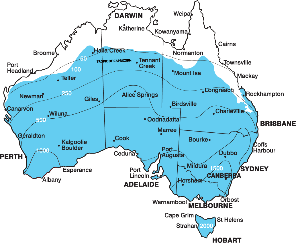 Australian Climate zones